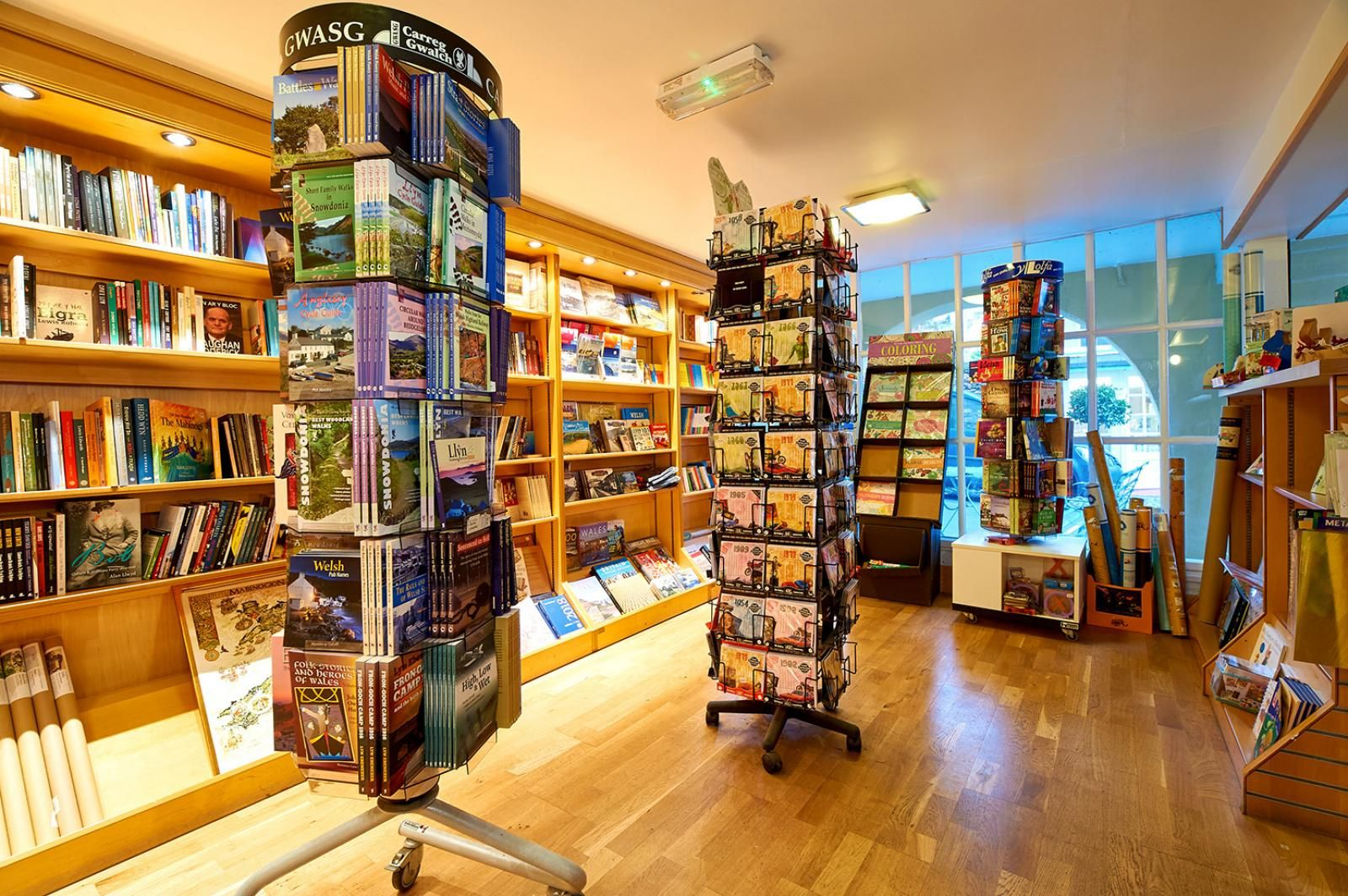 Golden Dragon Book Shop | Gift Shops | Portmeirion